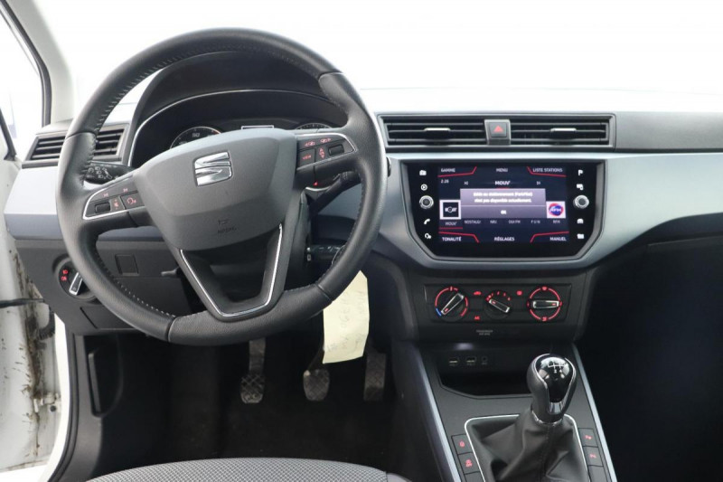 Seat Arona 1.0 EcoTSI 95 ch Start/Stop BVM5 Xcellence Blanc occasion à Saint-Priest - photo n°4