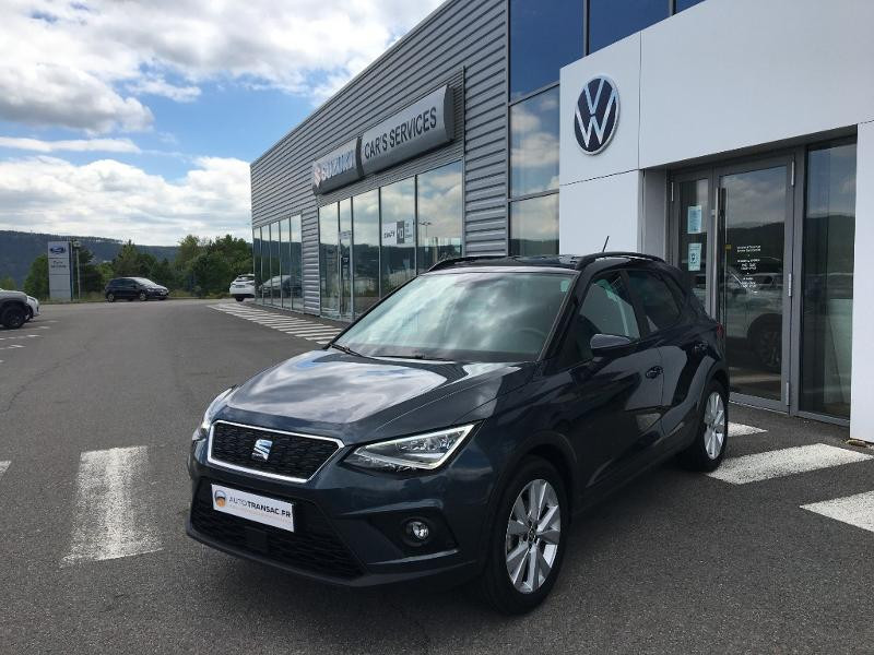 Seat Arona 1.0 EcoTSI 95ch Start/Stop Urban Euro6d-T Gris occasion à Mende