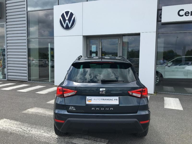 Seat Arona 1.0 EcoTSI 95ch Start/Stop Urban Euro6d-T Gris occasion à Mende - photo n°4