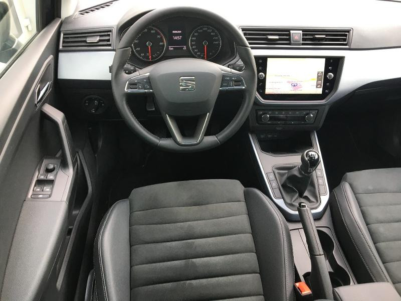 Seat Arona 1.0 EcoTSI 95ch Start/Stop Urban Euro6d-T Gris occasion à Mende - photo n°5