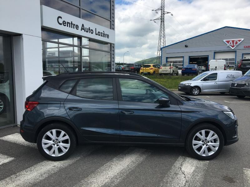 Seat Arona 1.0 EcoTSI 95ch Start/Stop Urban Euro6d-T Gris occasion à Mende - photo n°3