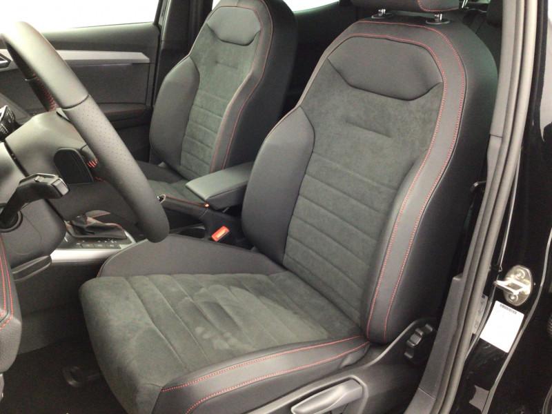 Seat Arona 1.0 TSI 110ch FR DSG + Pack Assist Noir occasion à SAINT-GREGOIRE - photo n°9