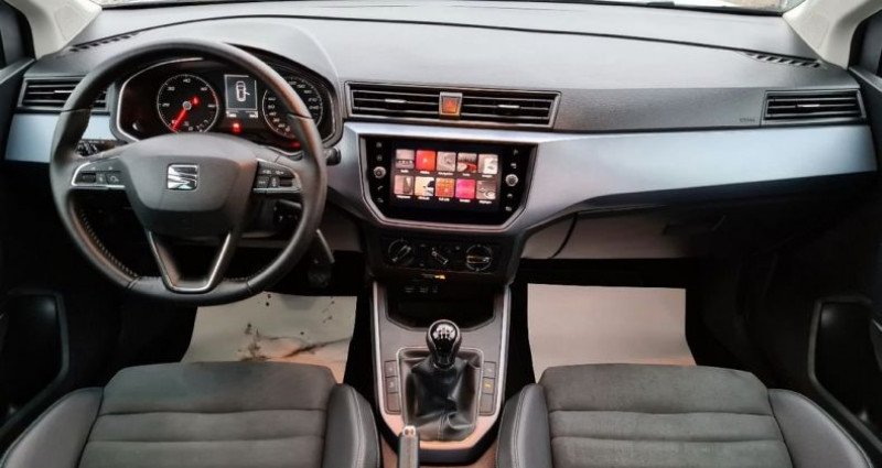 Seat Arona 1.6 tdi 95 urban 05/2019 11000kms 1°MAIN GPS PARK ASSIST CAM  occasion à Frontenex - photo n°5