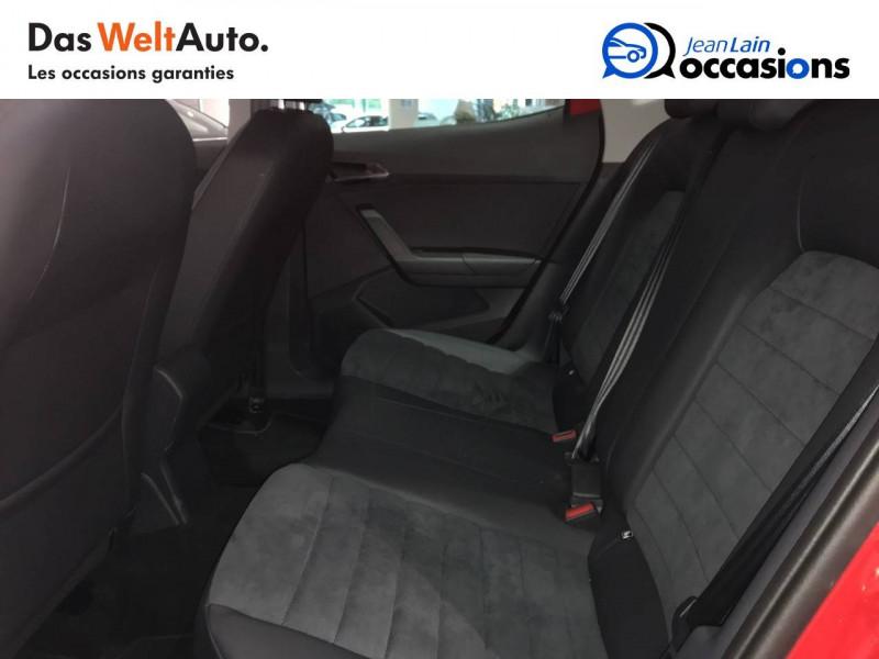 Seat Arona Arona 1.0 EcoTSI 95 ch Start/Stop BVM5 Urban 5p Rouge occasion à Tournon - photo n°17