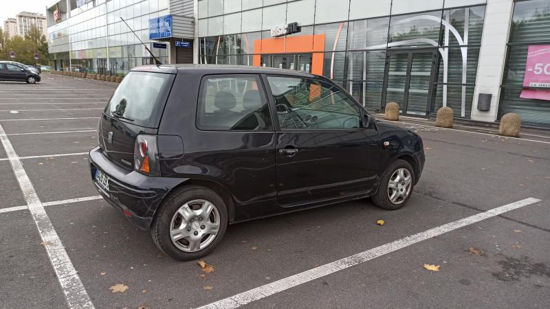 Seat Arosa SEAT AROSA 1.4 SELECT Noir occasion à Ivry-sur-Seine - photo n°3