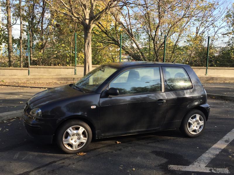 Seat Arosa SEAT AROSA 1.4 SELECT Noir occasion à Ivry-sur-Seine - photo n°2
