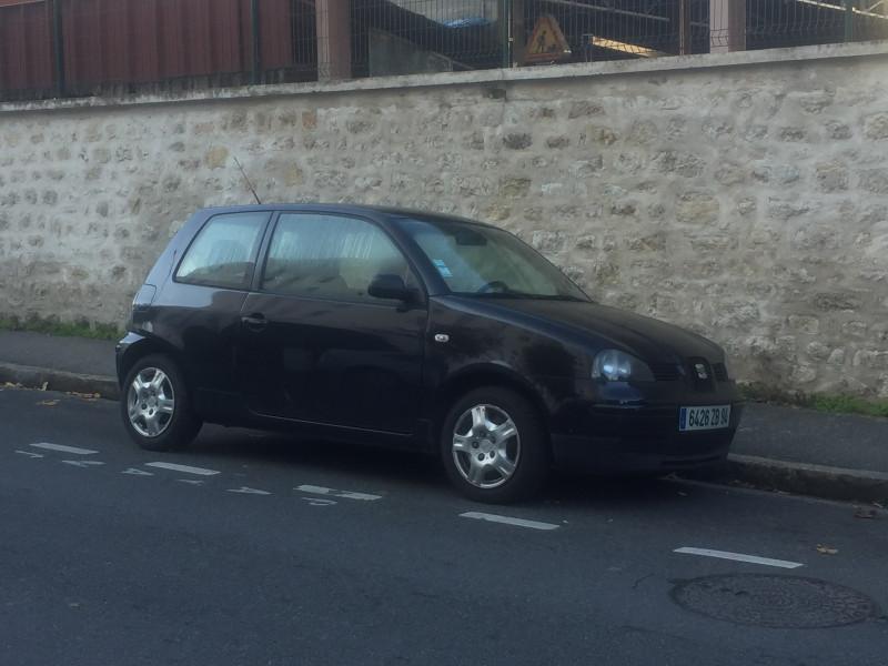 Seat Arosa SEAT AROSA 1.4 SELECT Noir occasion à Ivry-sur-Seine