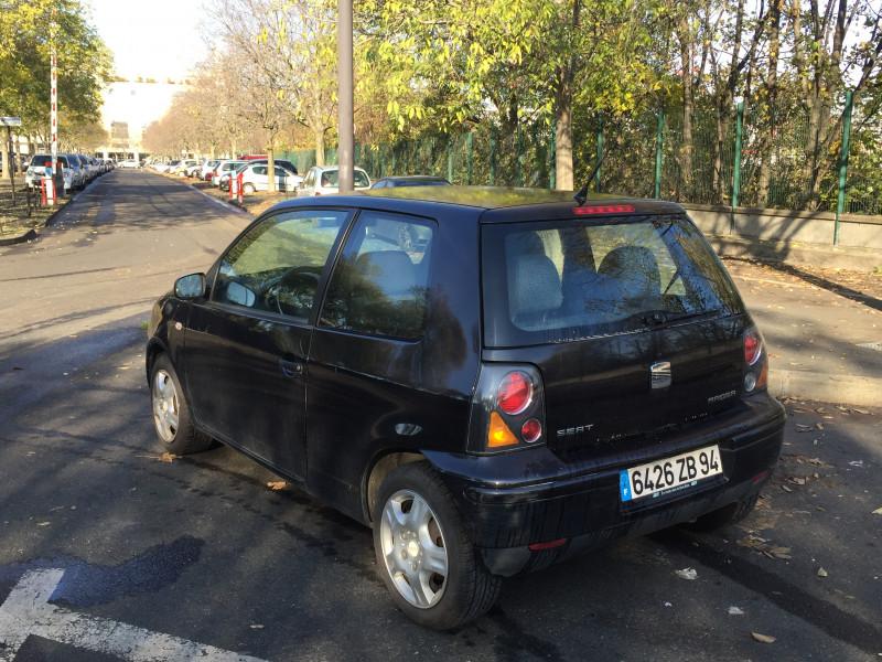 Seat Arosa SEAT AROSA 1.4 SELECT Noir occasion à Ivry-sur-Seine - photo n°11
