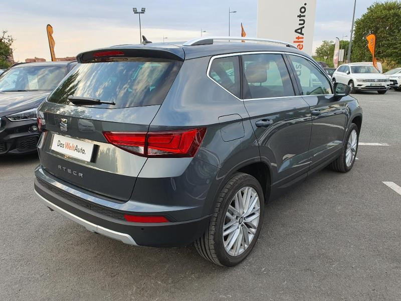 Seat Ateca 1.5 TSI 150ch ACT Start&Stop Xcellence DSG Euro6d-T Gris occasion à Albi - photo n°2