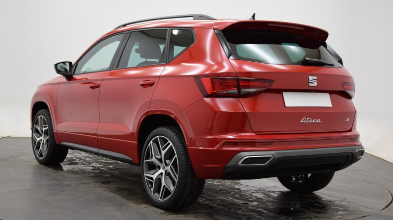 Seat Ateca 1.5 TSI 150CH START&STOP  FR DSG Rouge occasion à Neuilly-sur-Marne - photo n°3