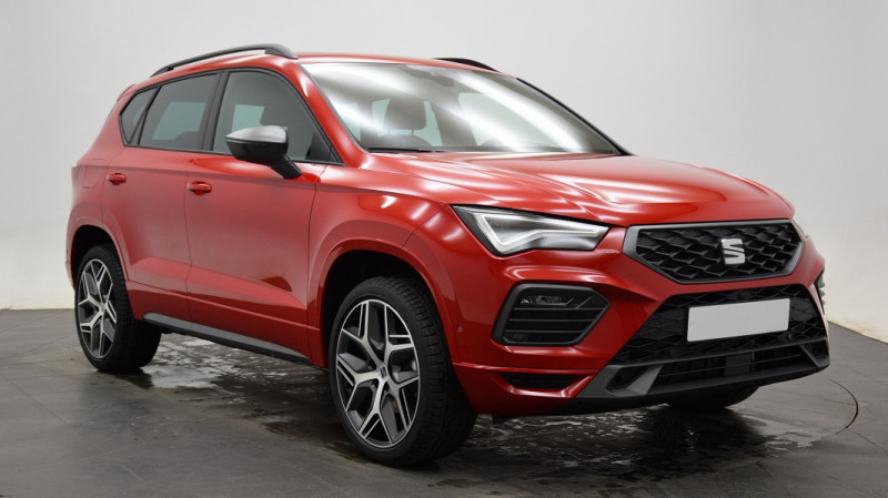 Seat Ateca 1.5 TSI 150CH START&STOP  FR DSG Rouge occasion à Neuilly-sur-Marne - photo n°2