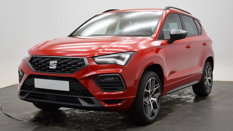 Seat Ateca 1.5 TSI 150CH START&STOP  FR DSG Rouge occasion à Neuilly-sur-Marne