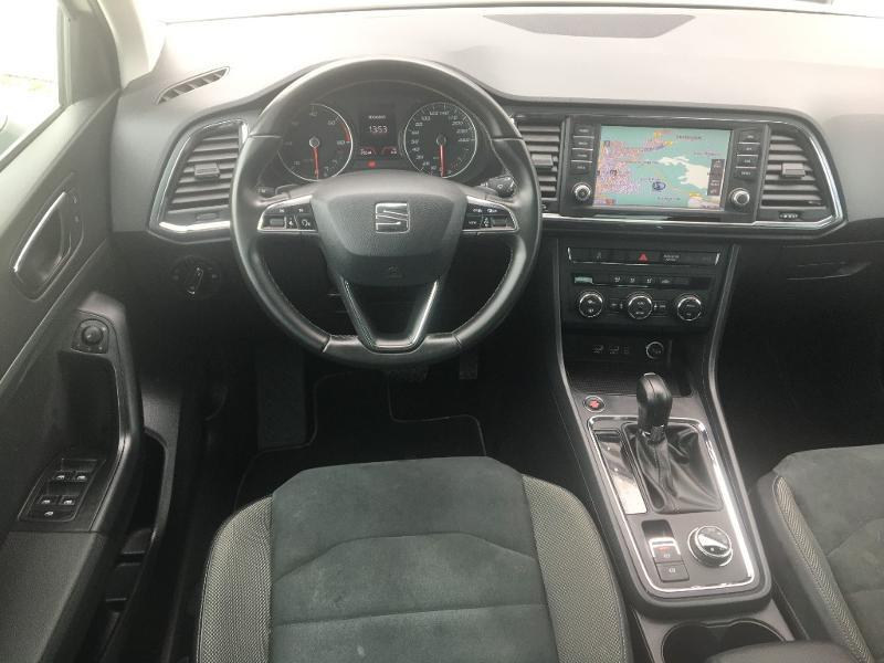 Seat Ateca 2.0 TDI 150ch Start&Stop Style 4Drive DSG Euro6d-T Blanc occasion à Mende - photo n°5