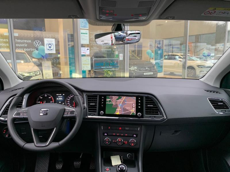 Seat Ateca 2.0 TDI 150ch Start&Stop Style Gris occasion à Onet-le-Château - photo n°5