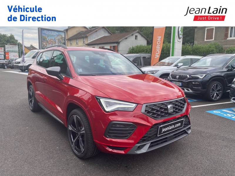 Seat Ateca Ateca 1.5 TSI 150 ch Start/Stop DSG7 FR 5p Rouge occasion à Voiron - photo n°3