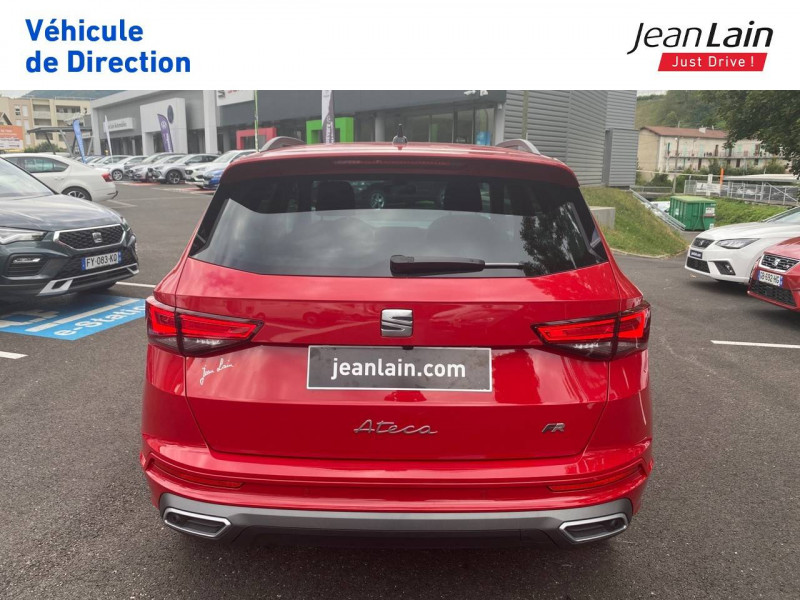 Seat Ateca Ateca 1.5 TSI 150 ch Start/Stop DSG7 FR 5p Rouge occasion à Voiron - photo n°6