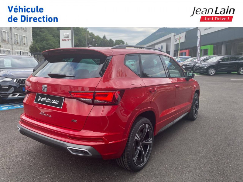 Seat Ateca Ateca 1.5 TSI 150 ch Start/Stop DSG7 FR 5p Rouge occasion à Voiron - photo n°5