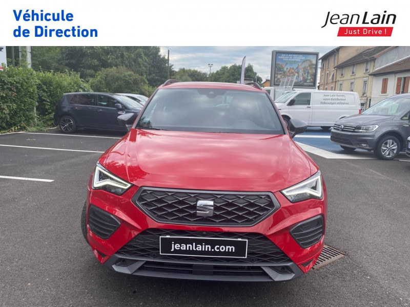 Seat Ateca Ateca 1.5 TSI 150 ch Start/Stop DSG7 FR 5p Rouge occasion à Voiron - photo n°2