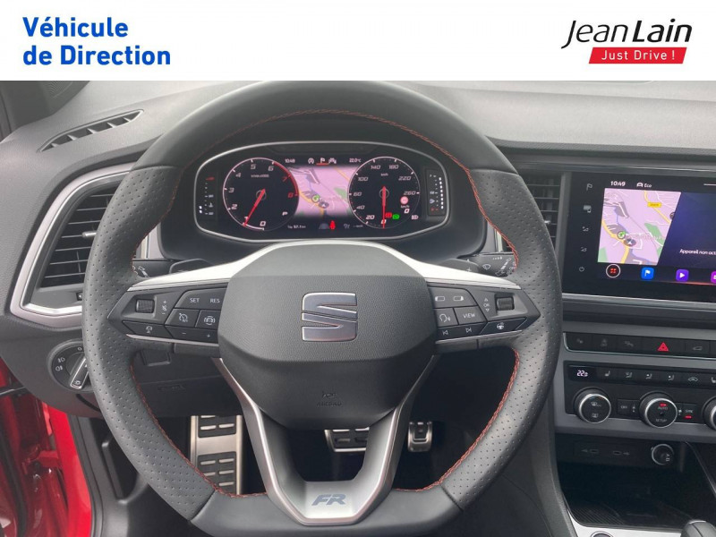 Seat Ateca Ateca 1.5 TSI 150 ch Start/Stop DSG7 FR 5p Rouge occasion à Voiron - photo n°12