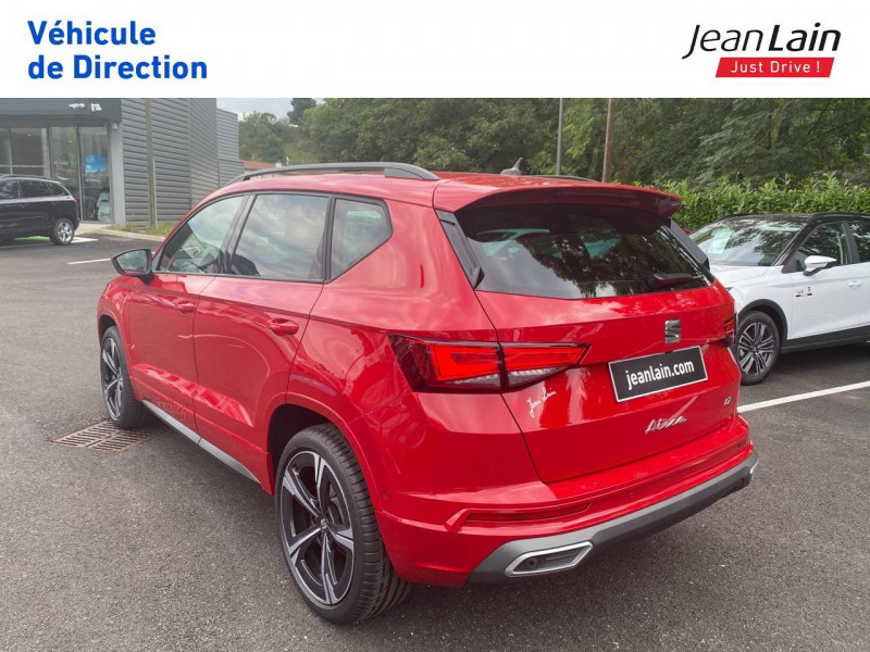 Seat Ateca Ateca 1.5 TSI 150 ch Start/Stop DSG7 FR 5p Rouge occasion à Voiron - photo n°7