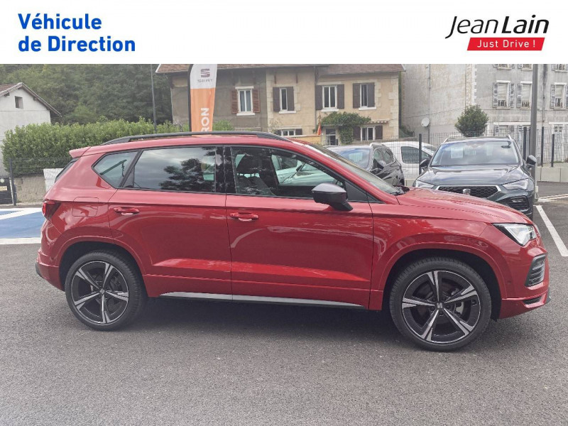 Seat Ateca Ateca 1.5 TSI 150 ch Start/Stop DSG7 FR 5p Rouge occasion à Voiron - photo n°4