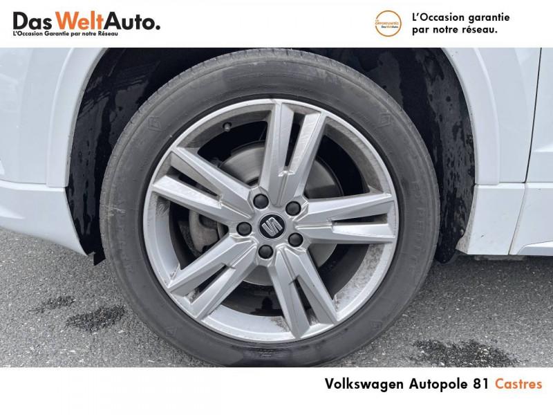 Seat Ateca Ateca 2.0 TDI 150 ch Start/Stop 4Drive FR 5p Blanc occasion à Castres - photo n°5