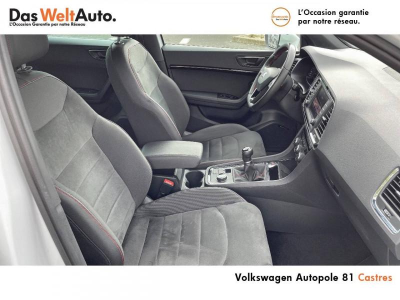 Seat Ateca Ateca 2.0 TDI 150 ch Start/Stop 4Drive FR 5p Blanc occasion à Castres - photo n°6