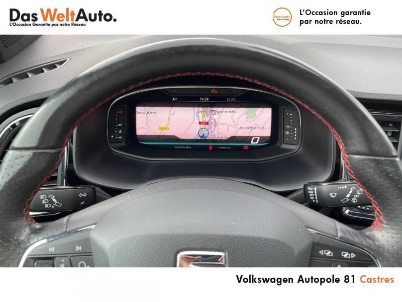Seat Ateca Ateca 2.0 TDI 150 ch Start/Stop 4Drive FR 5p Blanc occasion à Castres - photo n°10