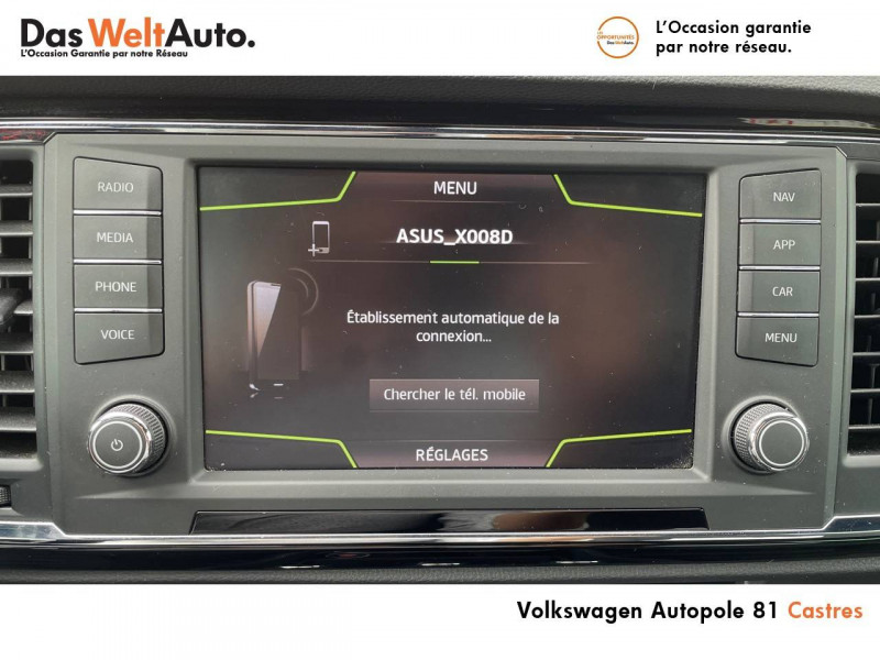 Seat Ateca Ateca 2.0 TDI 150 ch Start/Stop 4Drive FR 5p Blanc occasion à Castres - photo n°15