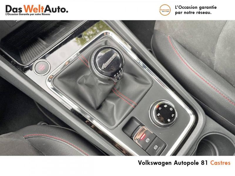 Seat Ateca Ateca 2.0 TDI 150 ch Start/Stop 4Drive FR 5p Blanc occasion à Castres - photo n°19