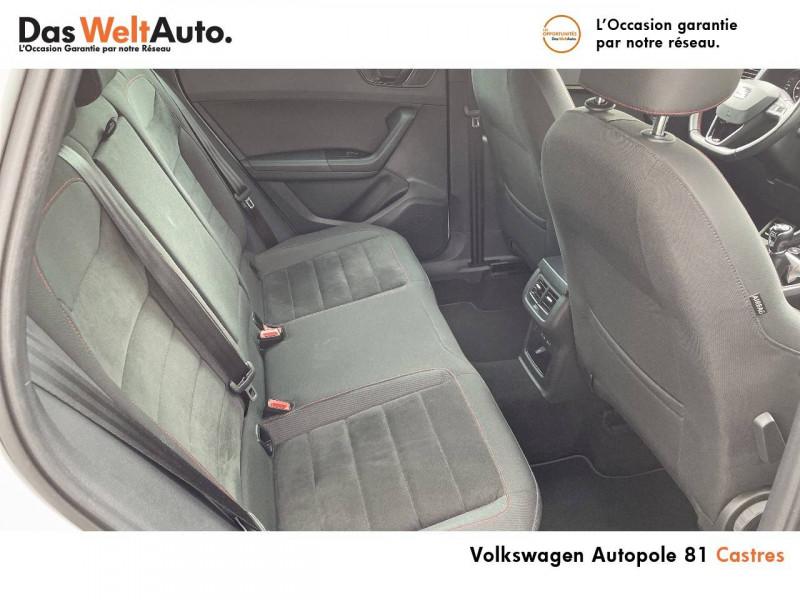 Seat Ateca Ateca 2.0 TDI 150 ch Start/Stop 4Drive FR 5p Blanc occasion à Castres - photo n°7