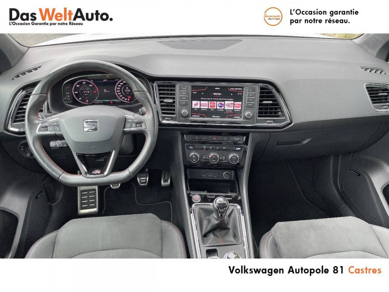 Seat Ateca Ateca 2.0 TDI 150 ch Start/Stop 4Drive FR 5p Blanc occasion à Castres - photo n°8