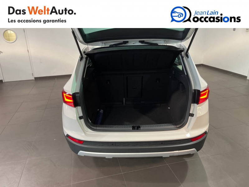 Seat Ateca Ateca 2.0 TDI 150 ch Start/Stop 4Drive Style 5p Blanc occasion à Seynod - photo n°10
