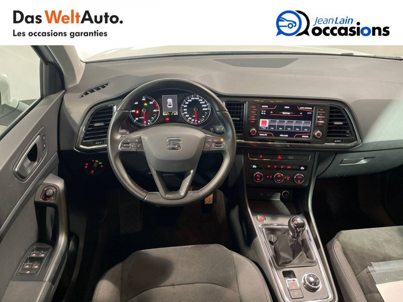 Seat Ateca Ateca 2.0 TDI 150 ch Start/Stop 4Drive Style 5p Blanc occasion à Seynod - photo n°11