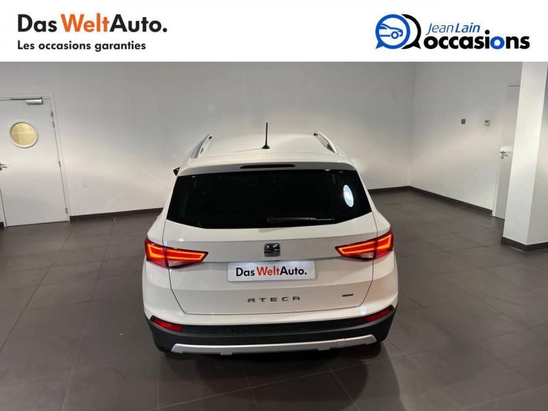 Seat Ateca Ateca 2.0 TDI 150 ch Start/Stop 4Drive Style 5p Blanc occasion à Seynod - photo n°6