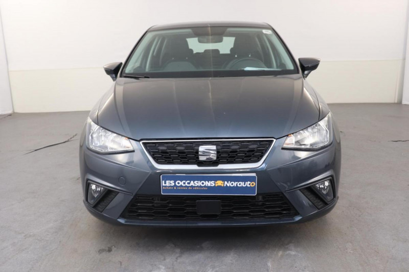Seat Ibiza 1.0 80 ch S/S BVM5 Style Gris occasion à Tours - photo n°2