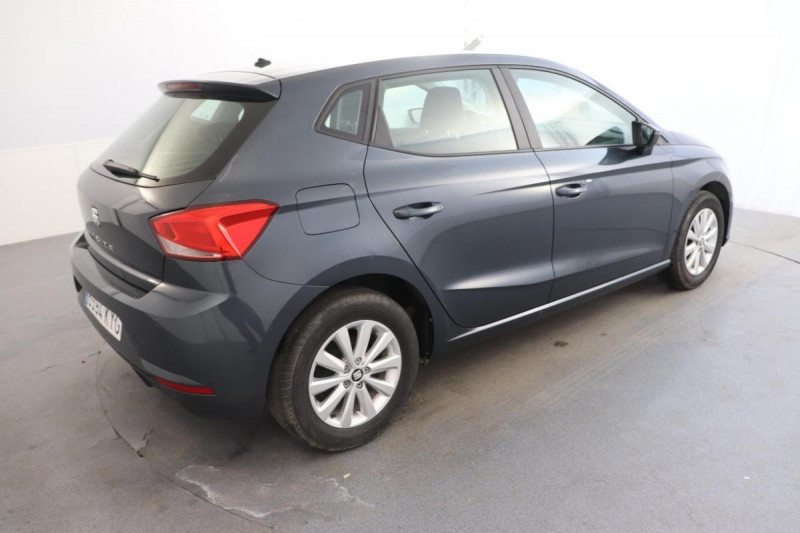 Seat Ibiza 1.0 80 ch S/S BVM5 Style Gris occasion à Tours - photo n°3