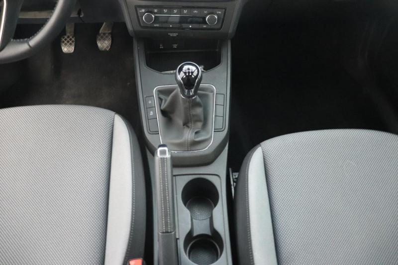 Seat Ibiza 1.0 80 ch S/S BVM5 Style Gris occasion à Saint-Priest - photo n°12