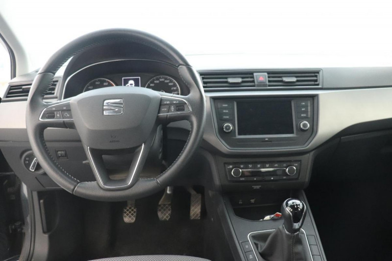 Seat Ibiza 1.0 80 ch S/S BVM5 Style Gris occasion à Saint-Priest - photo n°4