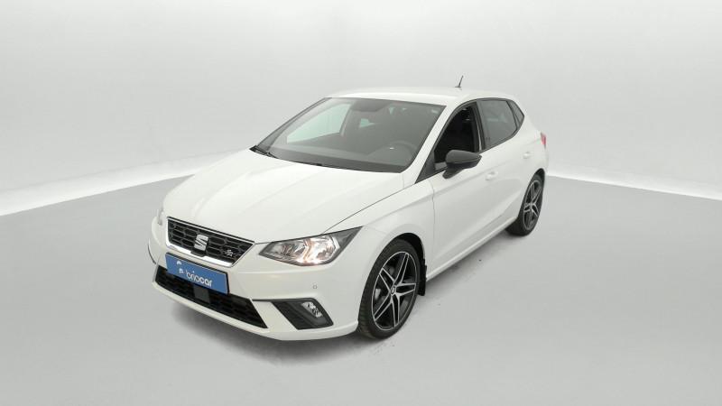 Seat Ibiza 1.0 EcoTSI 110ch FR DSG suréquipé Blanc occasion à SAINT-GREGOIRE