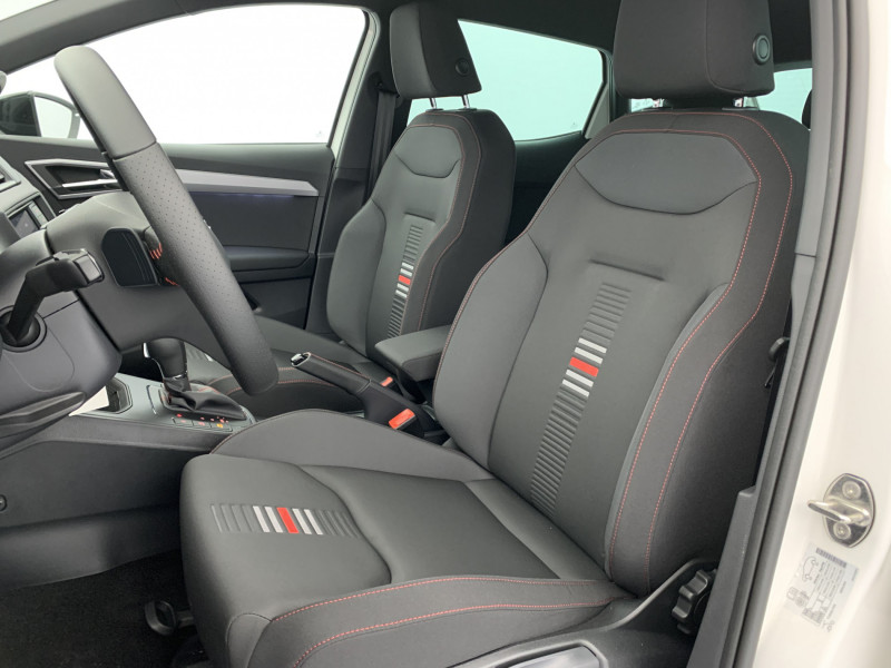 Seat Ibiza 1.0 EcoTSI 110ch FR DSG suréquipé Blanc occasion à SAINT-GREGOIRE - photo n°9