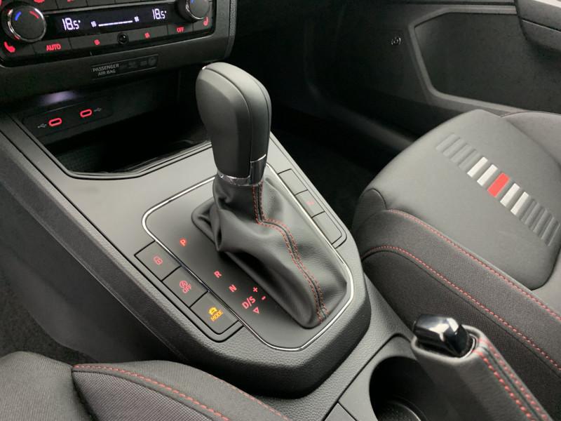 Seat Ibiza 1.0 EcoTSI 110ch FR DSG suréquipé Blanc occasion à SAINT-GREGOIRE - photo n°13