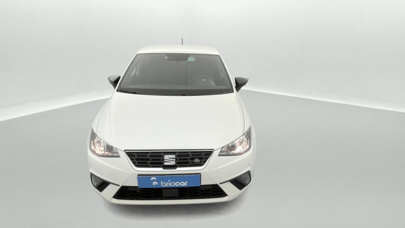 Seat Ibiza 1.0 EcoTSI 110ch FR DSG suréquipé Blanc occasion à SAINT-GREGOIRE - photo n°8