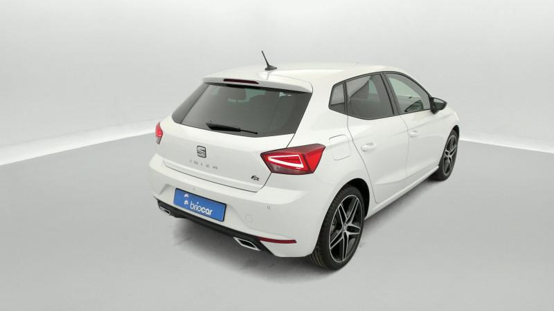 Seat Ibiza 1.0 EcoTSI 110ch FR DSG suréquipé Blanc occasion à SAINT-GREGOIRE - photo n°5