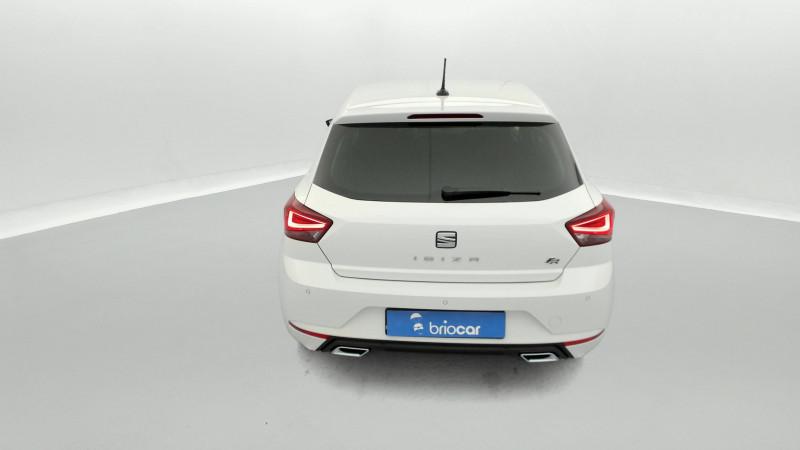 Seat Ibiza 1.0 EcoTSI 110ch FR DSG suréquipé Blanc occasion à SAINT-GREGOIRE - photo n°4