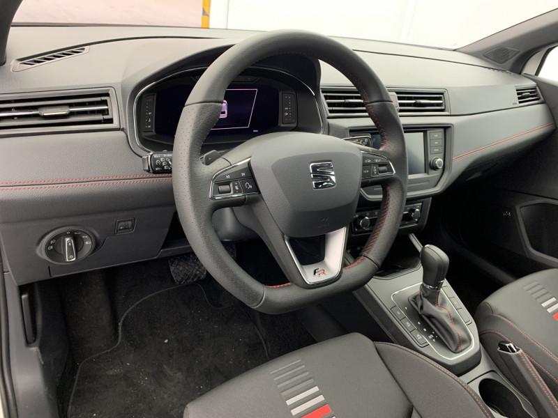 Seat Ibiza 1.0 EcoTSI 110ch FR DSG suréquipé Blanc occasion à SAINT-GREGOIRE - photo n°10