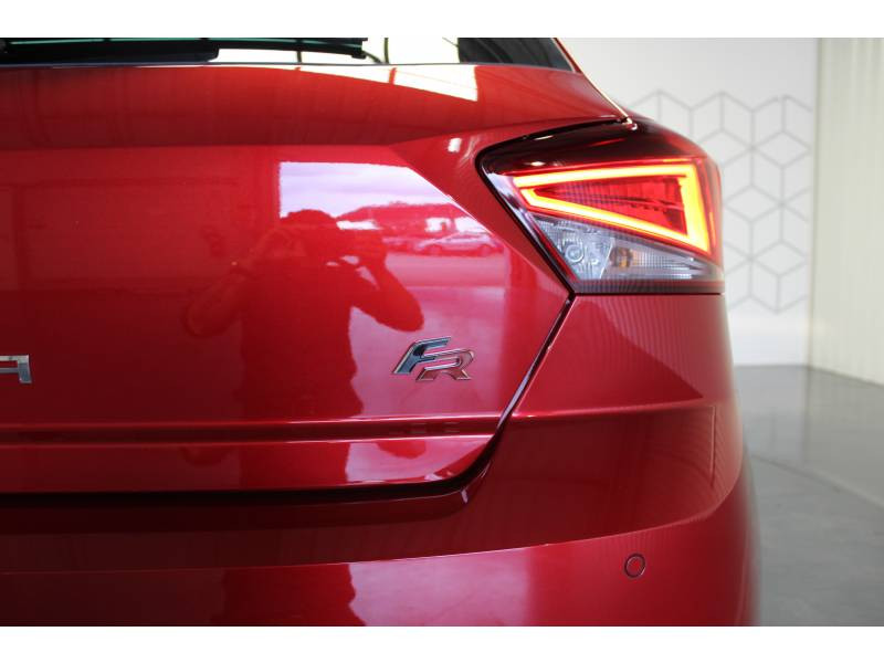 Seat Ibiza 1.0 EcoTSI 115 ch S/S DSG7 FR Rouge occasion à LONS - photo n°6