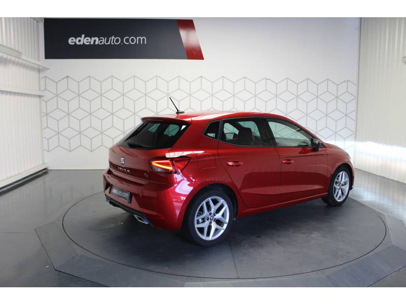 Seat Ibiza 1.0 EcoTSI 115 ch S/S DSG7 FR Rouge occasion à LONS - photo n°3