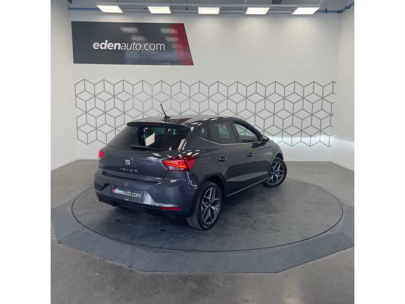 Seat Ibiza 1.0 EcoTSI 115 ch S/S DSG7 Xcellence Gris occasion à LONS - photo n°5