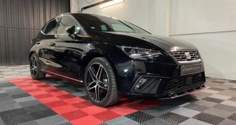 Seat Ibiza 1.0 EcoTsI 115ch BVM6 FR Noir occasion à MONTPELLIER